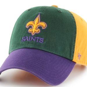 New Orleans Saints Mardi Gras Hat Cap New